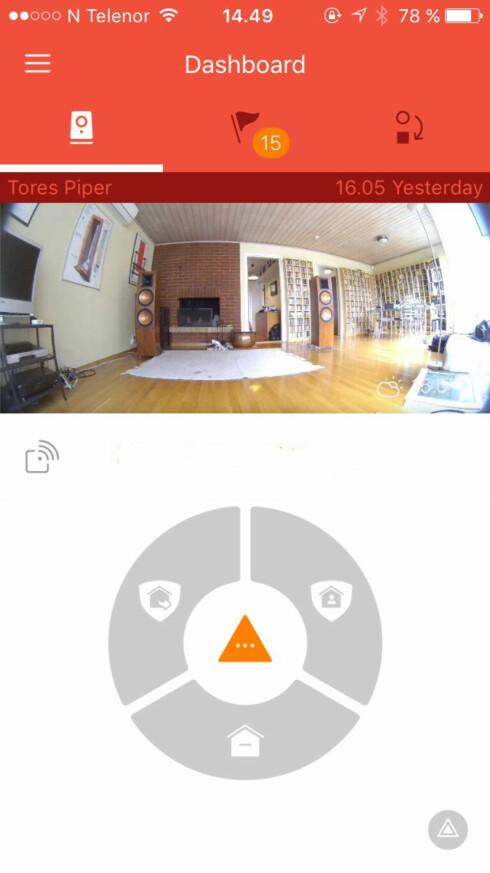 <strong><B>ENKEL:</strong></B> Piper-appen kan ikke beskyldes for å være full av kompliserte innstillinger. Foto: TORE NESET