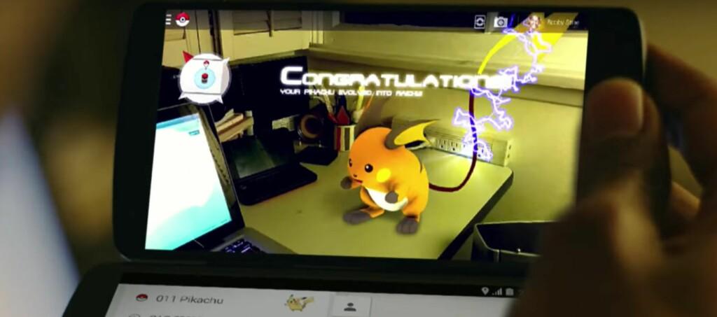 <strong>APRILSPØK:</strong> I 2014 var Pokémon Master en aprilspøk fra Google. To år senere ble Pokémon Go lansert. Foto: PÅL JOAKIM OLSEN