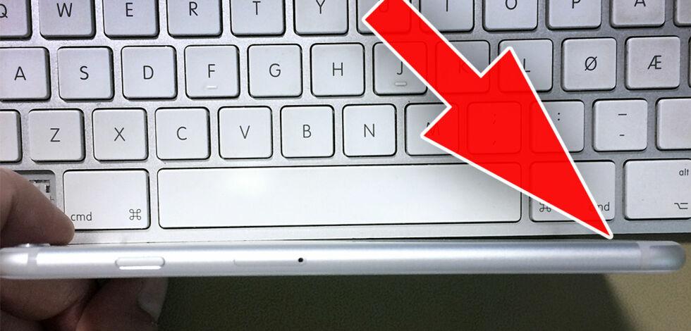 image: iPhone 6 Plus bøyde seg – Jesper fikk helt ny, helt gratis