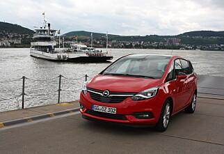 TEST: Fornyet Opel Zafira Tourer