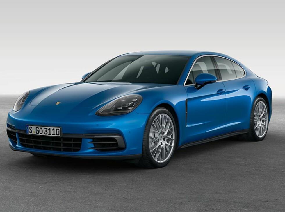 GENERASJON 2: Panamera den andre kommer til Norge i november, og får en startpris på kr. 1.649.000. Foto: Porsche