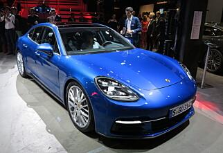Lansert: Porsche Panamera