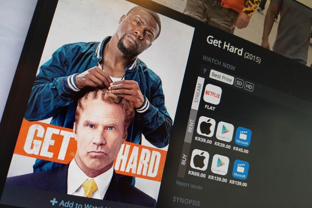 <strong>FLERE MULIGHETER:</strong> Nettjenesten JustWatch viser deg hvor du kan se en film, inkludert prisinformasjon. Foto: PÅL JOAKIM OLSEN