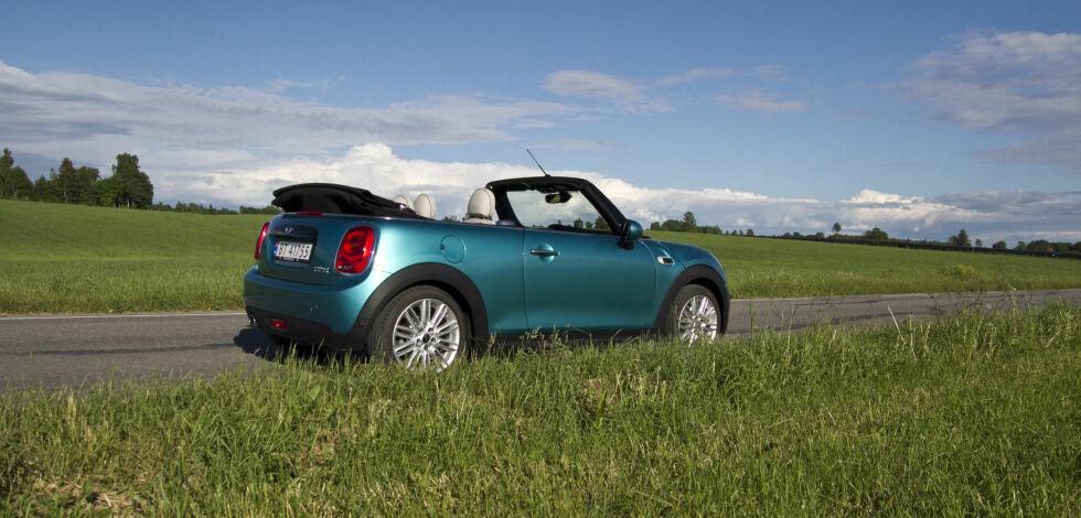 image: Test: Mini Cabrio på norske veier