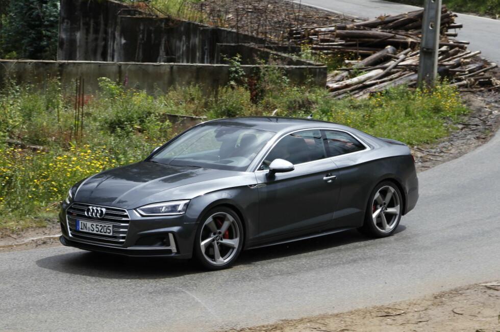 EVOLUSJON: Audi tar ingen risiko og har kun forsiktig endret designet. I overkant forsiktig, er det flere som synes. Foto: KNUT ARNE MARCUSSEN