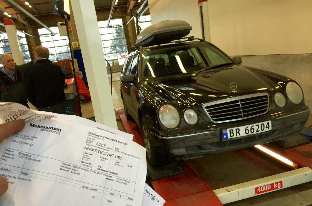<b>TA SJEKKEN:</b> Om du skal kjøpe bruktbil anbefaler både NAF og Forbrukerrådet at du får et verksted til å se på bilen før du bestemmer deg.  Foto: ESPEN STENSRUD