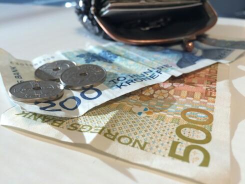MYE EKSTRA? Har du fått utbetlat et større beløp som du ikke skulle hatt, er sjansen stor for at jobben kan trekke deg for pengene. Foto: BERIT B. NJARGA