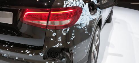 Mercedes-Benz GLC blir hydrogenbil