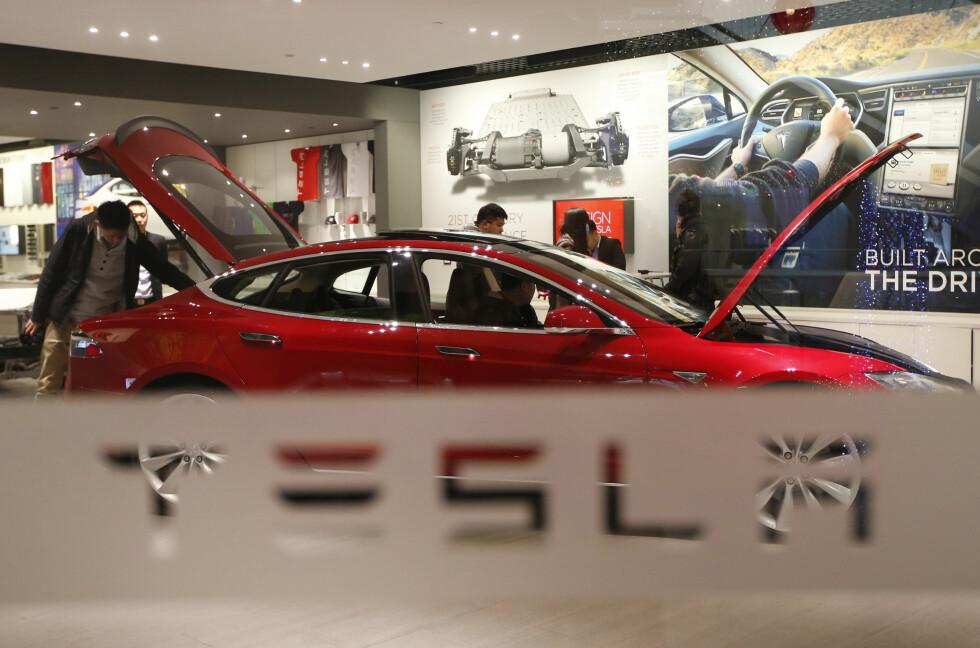 Model S 60: Med 75kWh batteri har Tesla nå lansert Model S 60 - med eller uten D.  Foto: REUTERS/NTB SCANPIX