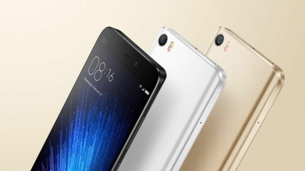 TOPPMODELLEN: Mi5 er Xiaomis gjeldende toppmodell.