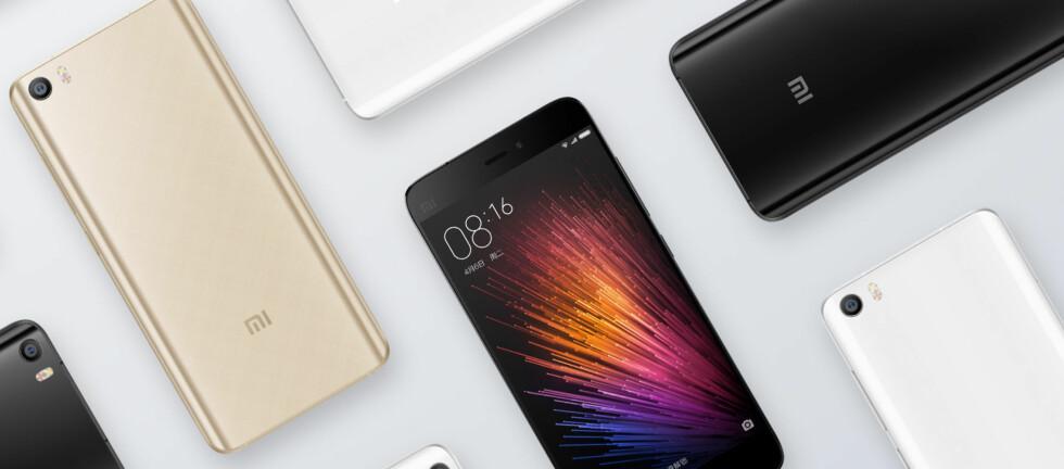 POPULÆR KINESER: I Kina er Xiaomi ett av de mest solgte mobilmerkene. Nå blir telefonene tilgjengelig også for nordmenn. Foto: XIAOMI