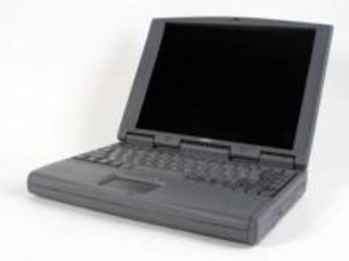LITE JÅLETE: I 1998 skulle de bærbare PC-ene være grå.  Foto: OLIVER MANN