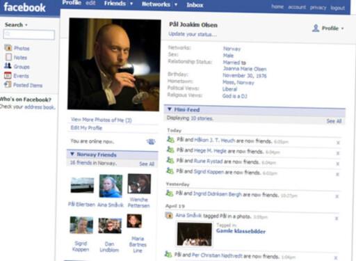FORT POPULÆRT: Etter at Facebook åpnet portene tok det ikke mange år før de norske nettsamfunnene måtte legge ned. Foto: DINSIDE