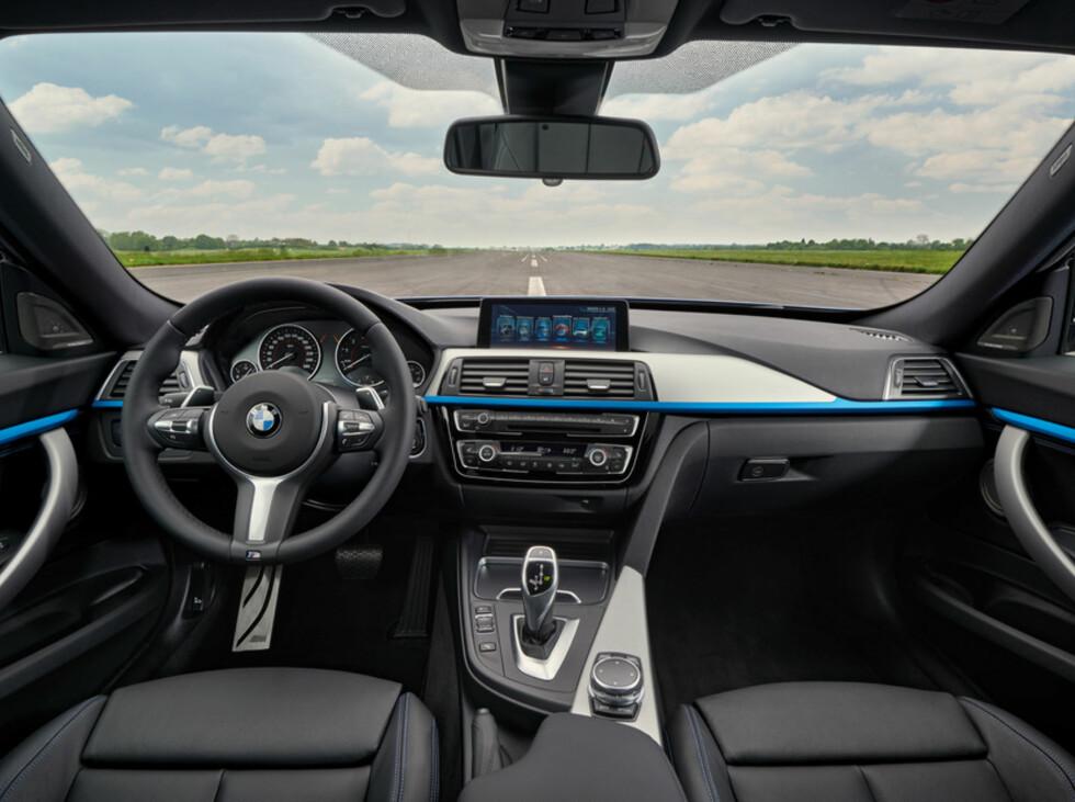 MER LUKSUS: Interiøret skal ose mer luksus enn tidligere.  Foto: BMW
