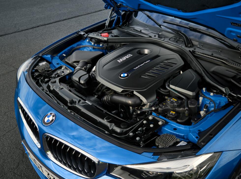 GJERRIGERE: Bensinmotorene er nye og mer drivstoffgjerrige. Foto: BMW