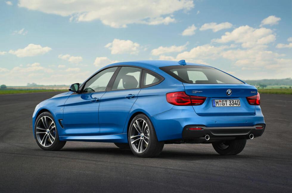 SMÅ-ENDRINGER: LED-lys er blant de små endringene nye 3-serie GT har fått.  Foto: BMW