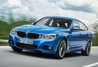 BMW oppgraderer 3-serie GT