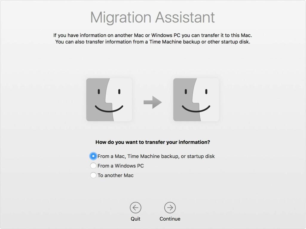 image: Flytt filene dine til ny Mac