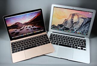 Flytt filene dine til ny Mac