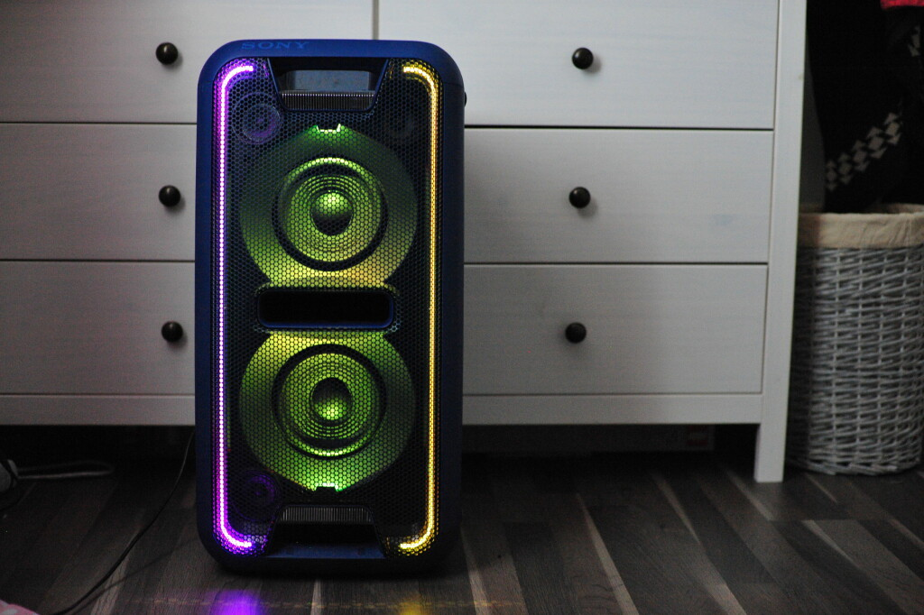 HARRY? LED-lysene blinker i mange forskjellige farger. Foto: PÅL JOAKIM OLSEN