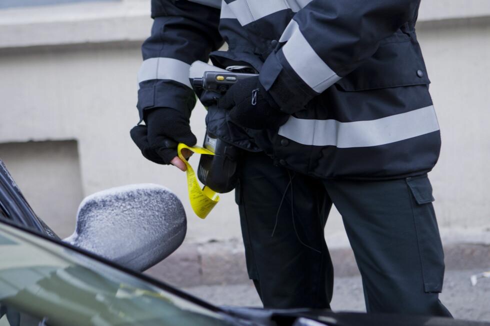 NÅ SKAL PARKERINGSSELSKAPENE KONTROLLERES: Et nytt Parkeringstilsyn skal kontrollere at parkeringsselskapene følger reglene.  Foto: NTB SCANPIX