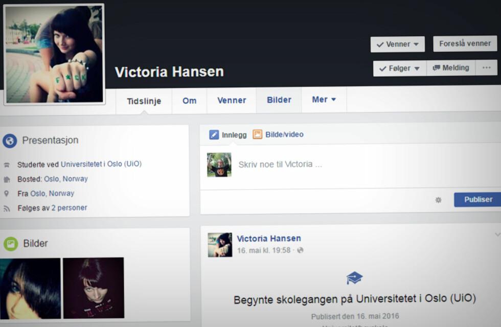 «NORSKE»: Mange falske Facebook-profiler gir seg ut for å være norske, for å få deg på kroken. Men at språk og detaljer stemmer, beviser ingenting. Foto: OLE PETTER BAUGERØD STOKKE