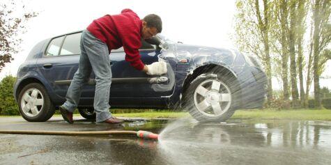 image: Vaske bilen hjemme?