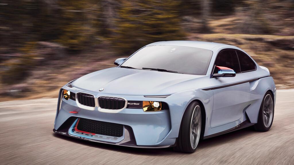ÜBER-TØFF: Som hyllest til den opprinnelige BMW 2002 Turbo fra 1973 synes vi 2002 Hommage (bildet), fremstår som et mesterstykke. Foto: BMW