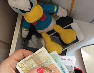 image: Kan foreldre ta penger fra kontoen til barna?