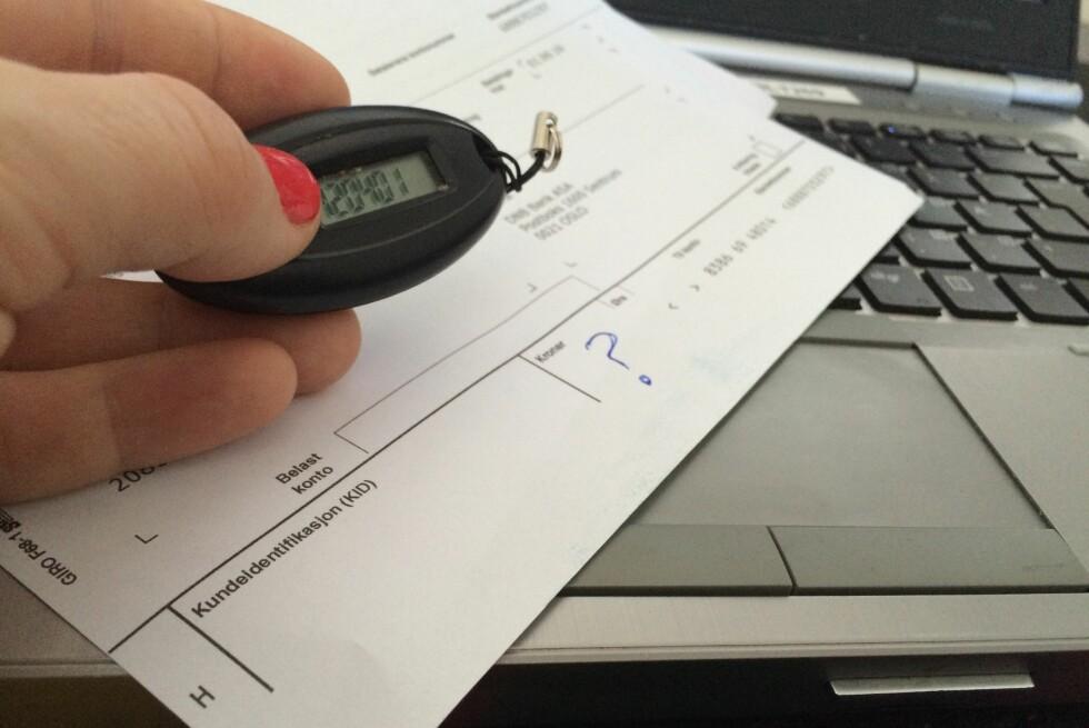 <b>HVOR MYE SKYLDER JEG?</b> Finanstilsynet vil at hele det skyldige beløpet skal oppgis i feltet for beløp på kredittkortfakturaen. Foto: BERIT B. NJARGA