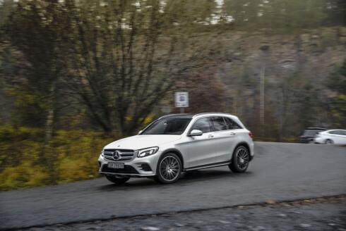 PREMIUM: Som premium-SUV trekkes Mercedes GLC frem som et av de bedre alternativene.  Foto: Jamieson Pothecary