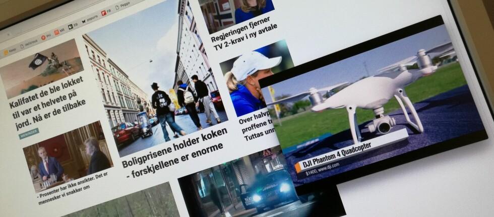 EGET VINDU: Skal du se en lang video, kan du se den i et eget vindu, slik at du kan holde på med andre ting på PC-en. Foto: PÅL JOAKIM OLSEN