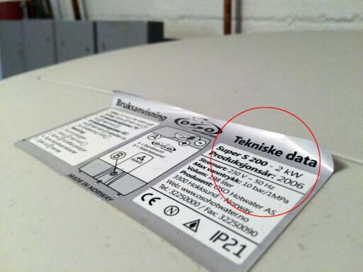 BERØRT? Modell og produksjonsår avgjør om din bereder har den brannfarlige komponenten.  Foto: BERIT B. NJARGA