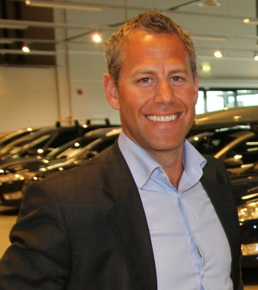 SAMME ERFARING: Haakon Marthinsen i Autolease sier de erfarte en del rustproblemer på enkelte VW-modeller. Men det ble bedre da de opprettet en fast rustkontroll hos en merkevareforhandler.  Foto: AUTOLEASE