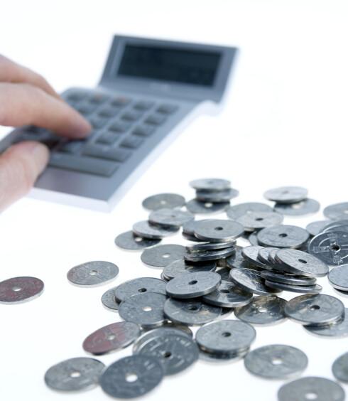 2.600 KRONER: Hvert år frem til 2020 skal studielånet økes med rundt 2.600 kroner. Foto: NTB SCANPIX