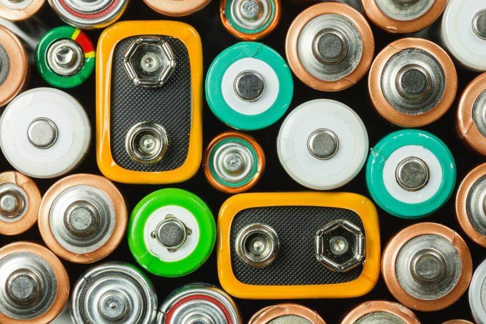 MYE Å VELGE I: Sjekk størrelse og type før du kjøper. Det kan dessuten lønne seg i å investere i oppladbare (med lader) om du må skifte batteriene ofte. Foto: SILABOB / SHUTTERSTOCK/NTB SCANPIX