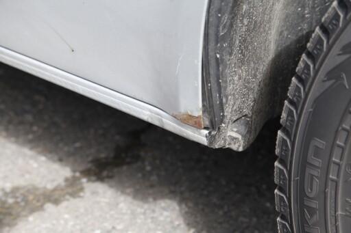 RUST: Flere Volkswagen modeller ruster lettere. Det er viktig å følge nøye med der det oppstår rustproblemer.  Foto: KNUT ARNE MARCUSSEN
