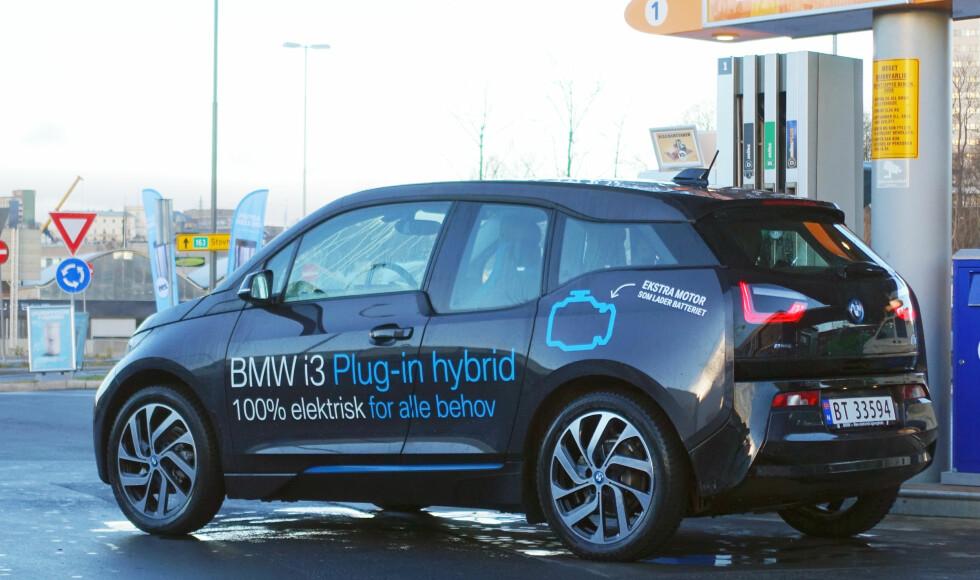 FALT GJENNOM: Som ladbar hybrid klarte ikke BMW i3 å overbevise oss: Det finnes rimeligere og bedre konkurrenter der ute. Foto: JAMIESON POTHECARY