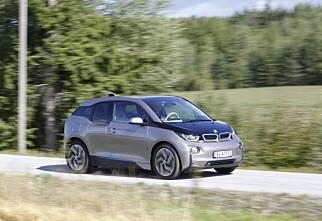 BMW i3 får markedets lengste rekkevidde