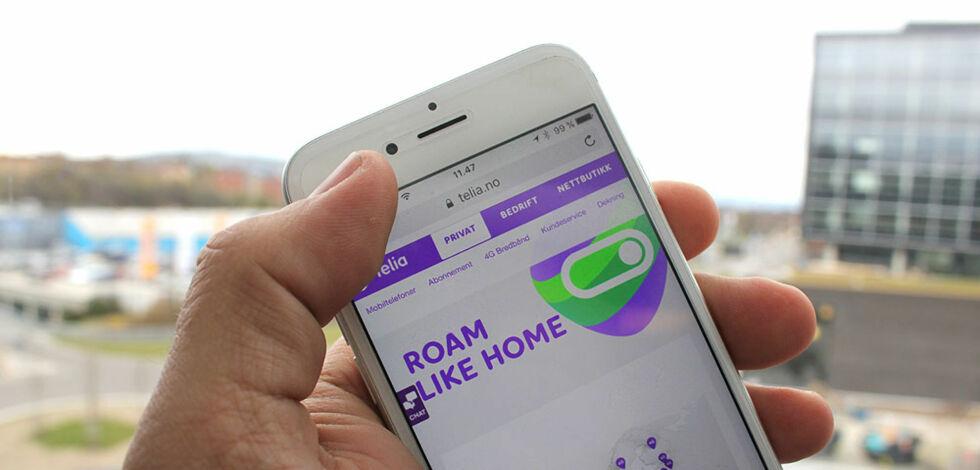 image: Telia utvider kostnadsfri roaming til å gjelde hele EU og EØS
