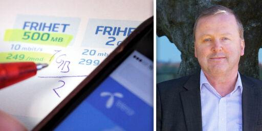 image: Telenor halverer datakvota om du velger fri roaming
