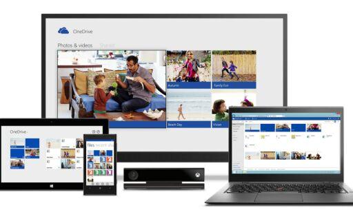 image: Microsoft kutter i Onedrive