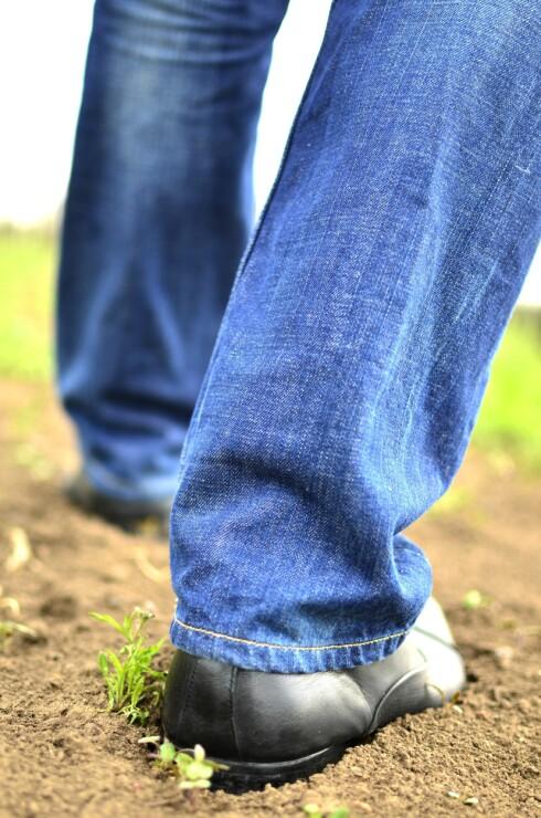 GJØDSEL: Har du fått gjødsel under skoene som du så har på gjennom sikkerhetskontrollen, kan dette få partikkeldetektoren til å reagere. Foto: SHUTTERSTOCK/NTB SCANPIX