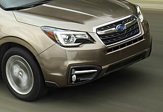 Subaru Forester moderniseres