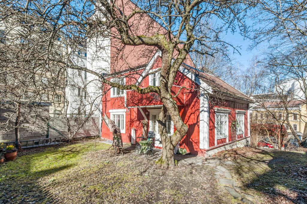 1,95 MILLIONER OVER TAKST: Enebolig i Pilestredet 61, Oslo. Foto: INVISO/DNB EIENDOM