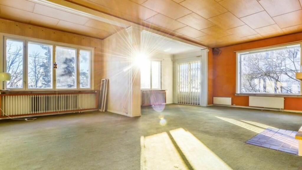 8 MILLIONER OVER PRISANTYDNING: Enebolig på Tåsen i Oslo. Foto: Z OVENFRA