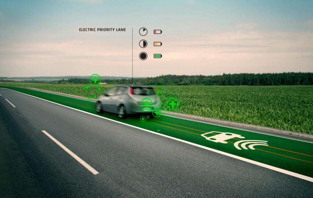 LAD MENS DU KJØRER:  I fremtiden kan du ifølge vegvesenets planer lade bilen mens du kjører på E39.