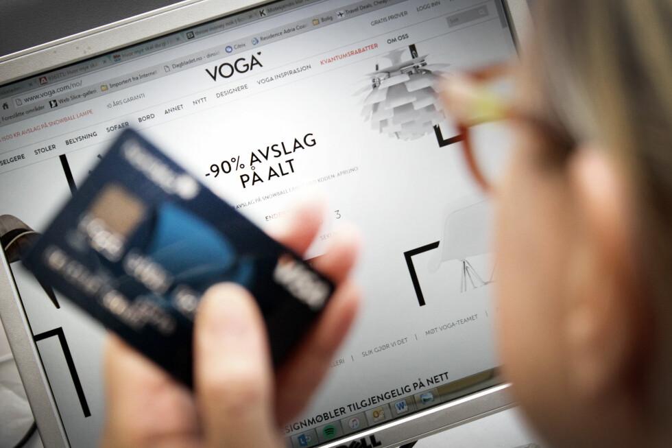 BILLIGERE MØBLER: Nettbutikker som Voga.com selger kjente designmøbler for en brøkdel av prisen. Det er ulovlig å drive en slik butikk i Norge, men lovlig å handle der. Foto: OLE PETTER BAUGERØD STOKKE