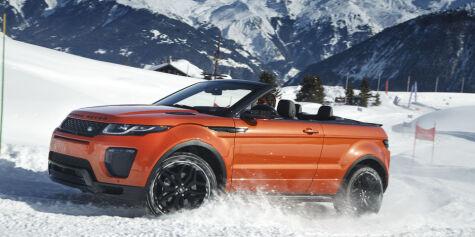 image: Åpen Range Rover Evoque er lansert