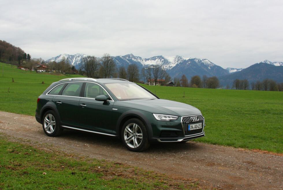 FORUTSIGBART: Det er et stikkord når det gjelder Audi som oftest, og A4 allroad quattro spesielt. Komfort, stillhet i interiøret og betryggende kjøreegenskaper - alt er på plass. Foto: KNUT MOBERG